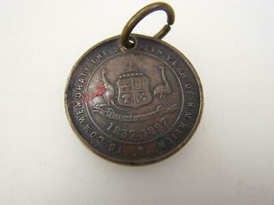 1897 Commemorative medallion Queen Victoria's 70th year of reign             180