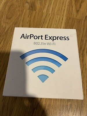Apple Airport Express 802.11n Base Station With Box MB321LL A1264