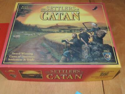 The Settlers of Catan Board Game 3061 Mayfair Klaus Teuber USA