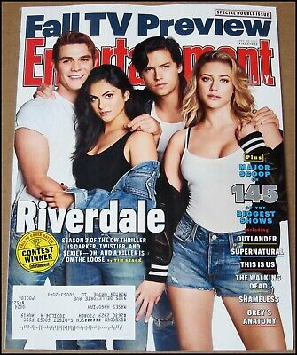 9/22/2017 Entertainment Weekly Fall TV Preview Riverdale Outlander This is Us