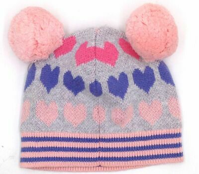 $79 Tucker Tate Girl/'S Gray Bird /& Flowers Embroidered Beanie Hat Cap One Size