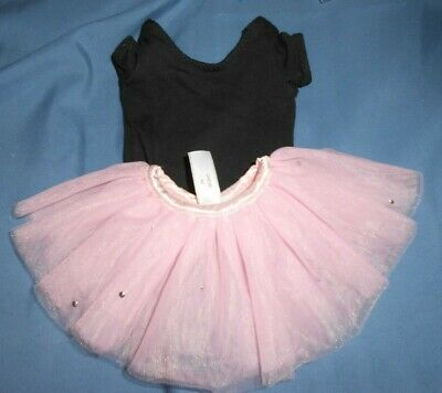 American Girl -  Pretty in Pink Outfit for Dolls - TUTU AND BLACK LEOTARD ONLY
