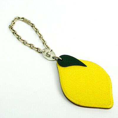 Hermes Keyring Fruits & Vegetables Lemon BF513165