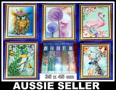 5D Diamond Painting Embroidery Cross Craft Stitch Pictures Art Kit Mural 35X45CM