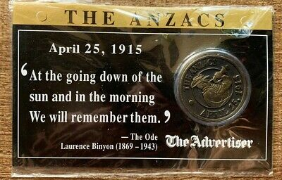 The Advertiser Commemorative ANZAC Medal Lot2