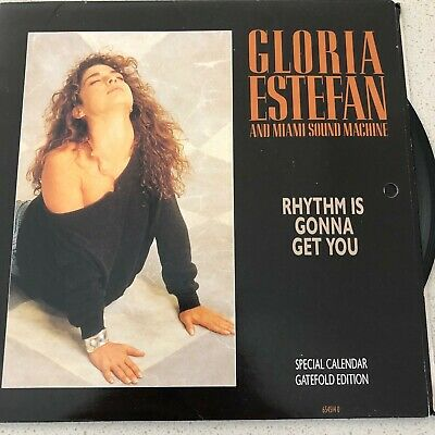 Gloria Estefan: Rhythm Is Gonna Get You - Huge vinyl 45 sale - All M/NM