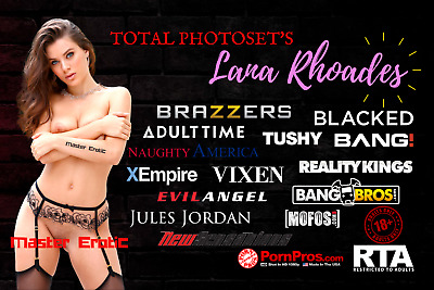 Lana Rhoades Total Compilation Of Photoset's 14.85 GB