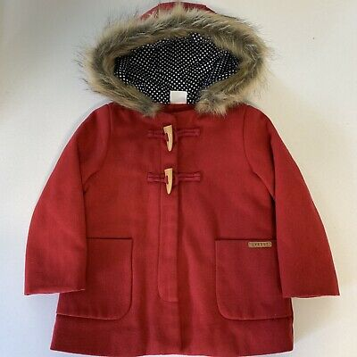 Sprout Toddler Wool Duffle Coat Size 2