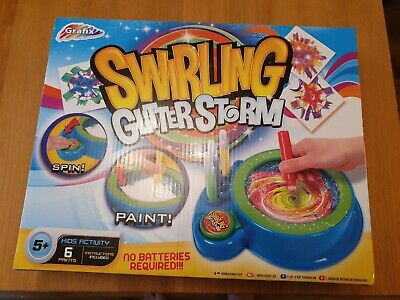 Brand New Grafix Swirling Glitter Storm Art Set Age 5+