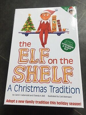 The Elf On The Shelf Boy And Book