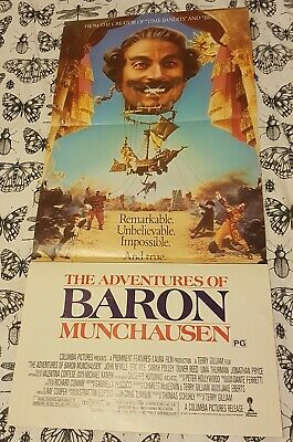 The Adventures of Baron Munchausen Daybill Movie Poster