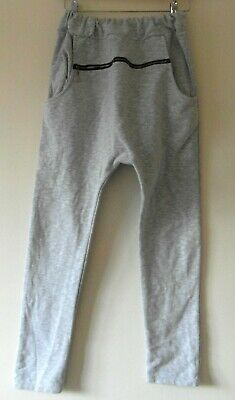 Ziggo Italian Made Grey Maternity Pregnancy Over the Bump Joggers Soft Trousers