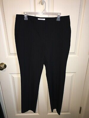 Primark Black Casual Dress Pants with front pockets ~ Size 10