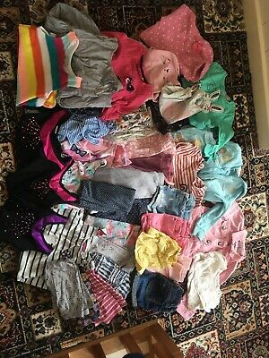Girls Clothes Bundle 2-3 3-4 Years Summer Swimsuit Leotard 38 Items