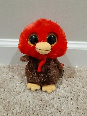 Ty Beanie Boos FEATHERS the Turkey 6 Inch NEW MWMT Walgreen/'s Exclusive
