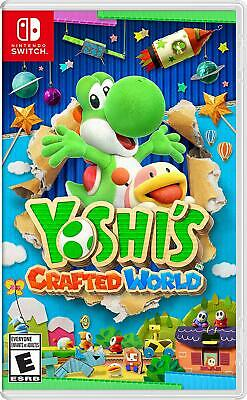 Yoshi's Crafted World Nintendo Switch New & Sealed In stock now