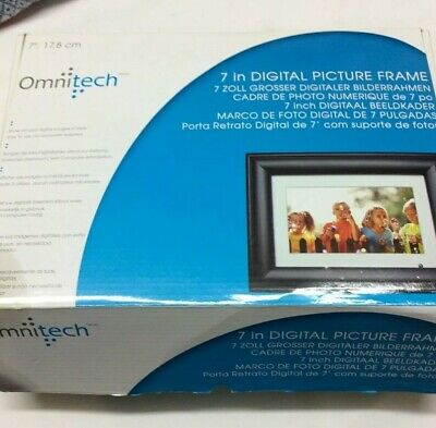 "New in Box Omnitech 7"" Digital Picture"