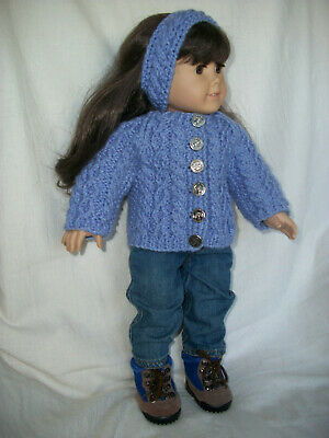 "American Girl  by LaGala Designs Your Choice 5 Knitting Patterns for 18/"" Doll"