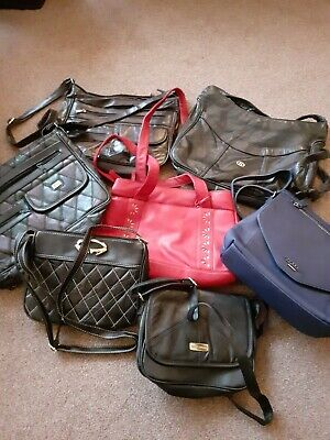 Job Lot Of 7 Handbags