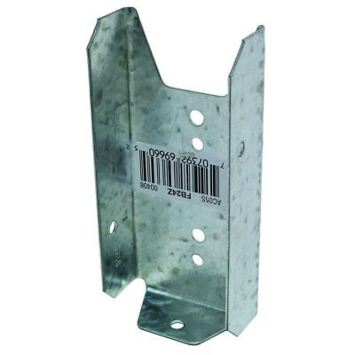 """NEW Simpson Strong Tie Fence Bracket D For 2""""X4"""" 20 gauge Gage steel 2 BY 4 INCH"""