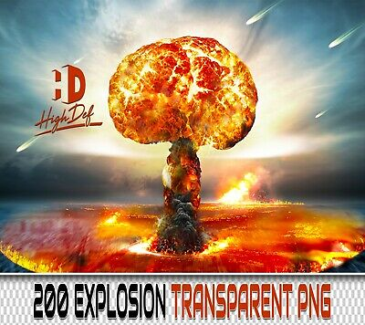 200 Explosion Transparent Png Digital Photoshop Overlays Backdrops Backgrounds