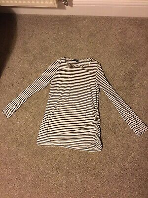 Long Sleeved Mothercare Maternity Top Size Medium