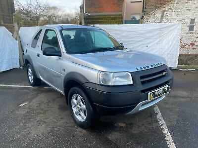 Land Rover Freelander 2.0Td4 2003 Serengeti, Hard Top Convertible, AA Warranty