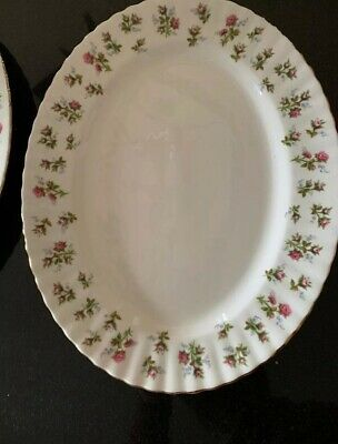 ROYAL ALBERT x 1 WINSOME OVAL MEAT DISH 13""