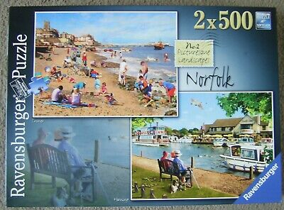 Norfolk by Ravensburger        2 x 500 piece jigsaw puzzles