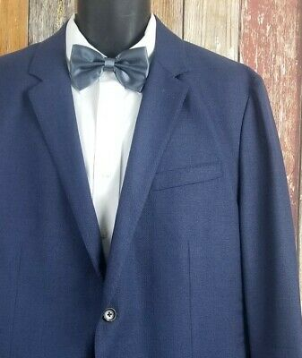 Bonobos Men's Unconstructed Lightweight VBC Wool Sport Coat Jacket 46R Regular