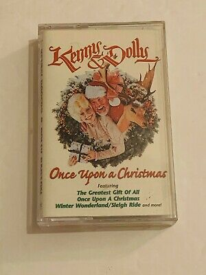 Once Upon a Christmas Kenny Rogers & Dolly Parton Cassette Tape 1984