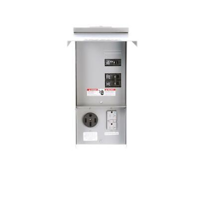 Siemens Temporary Power Outlet Panel 20 and 50 Amp Receptacles - Unmetered