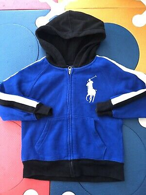 Polo By Ralph Lauren Boys Big Pony Hoddie Size 4T