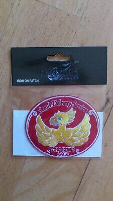Final Fantasy 7 Remake Sam`s Delivery Service Chocobo Patch