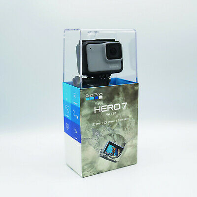 GoPro HERO7 White – digitale 10 MP Full HD Action-Cam mit Touchscreen NEU OVP