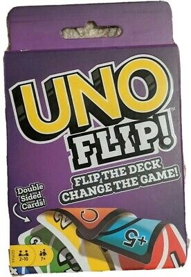 Uno Flip-Card Game: Brand New in Package