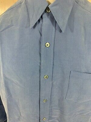 Ted Baker London Light Blue Mens Dress Button Down Shirt size 4