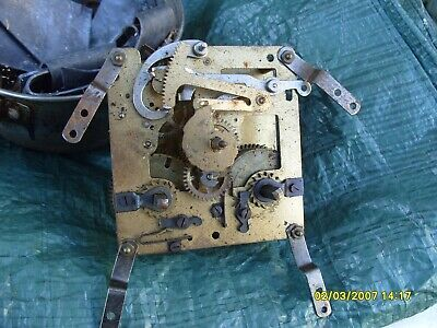 Clock Parts  Striking  Movement Spares Foreign  Make  89Mm X 92Mm