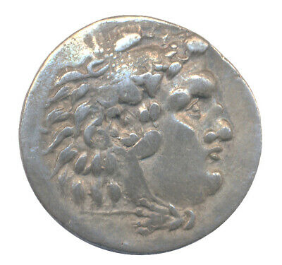 MACEDONIAN KINGDOM Alexander III the Great 336-323 BC AR tetradrachm 29mm 16.3gr
