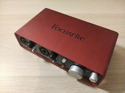 Focusrite Scarlett 2i2 (1nd Gen) USB Audio Interface