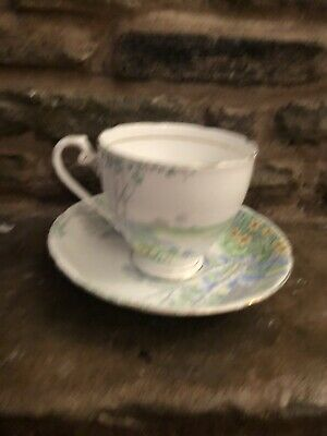 Gorgeous Royal Grafton Tea Cup & Saucer Bone China 'Kenelworth'