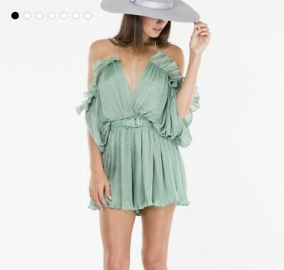 Alice Mccall At First Sight Moss Playsuit