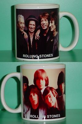 ROLLING STONES - Mick Jagger - with 2 Photos - Designer Collectible GIFT Mug 02