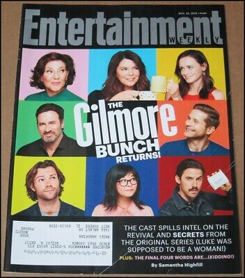 11/25/2016 Entertainment Weekly Gilmore Girls Lauren Graham Alexis Bledel Bishop