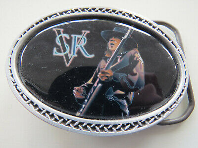 USA Men's Buckle **Stevie Ray Vaughan** Fine Pewter... As New - Unused