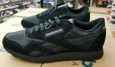 Details about Reebok Classic Nylon BlackBlackCarbon BD5993 Casual Comfort Sneakers for MEN