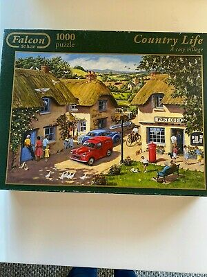 FALCON 1000 piece Jigsaw puzzle Country Life A Cosy Village