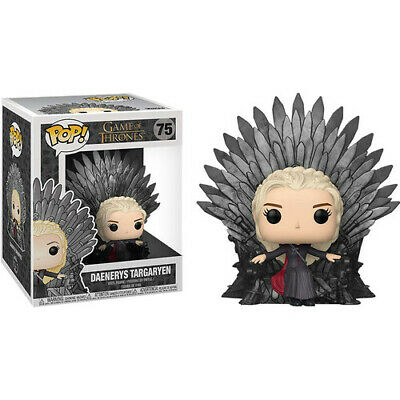 Game Of Thrones Daenerys Encendido Trono de Hierro Pop! Deluxe
