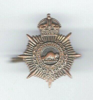 CANADIAN ARMY SERVICE CORPS collar badge