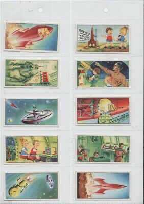 Space Trade Cards 1954. Full set of 24